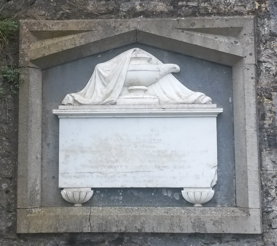 Hozier memorial Kilconnell