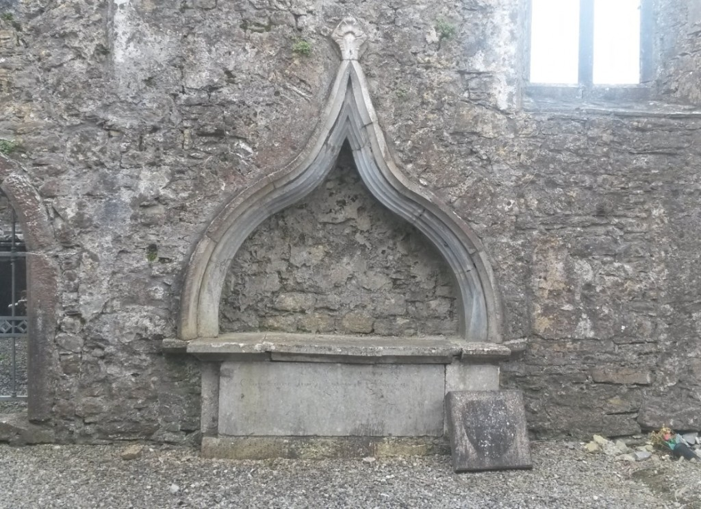 O Kelly tomb Kilconnell